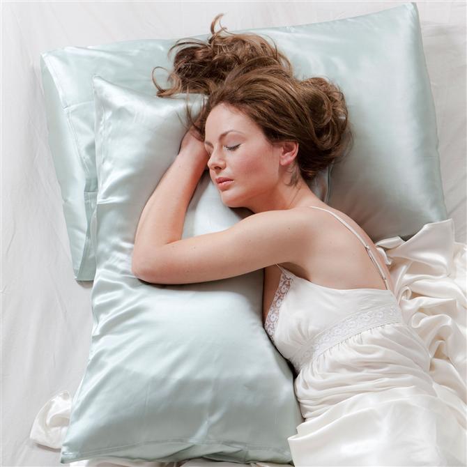 Yastık kılıfınız ipek olmalı