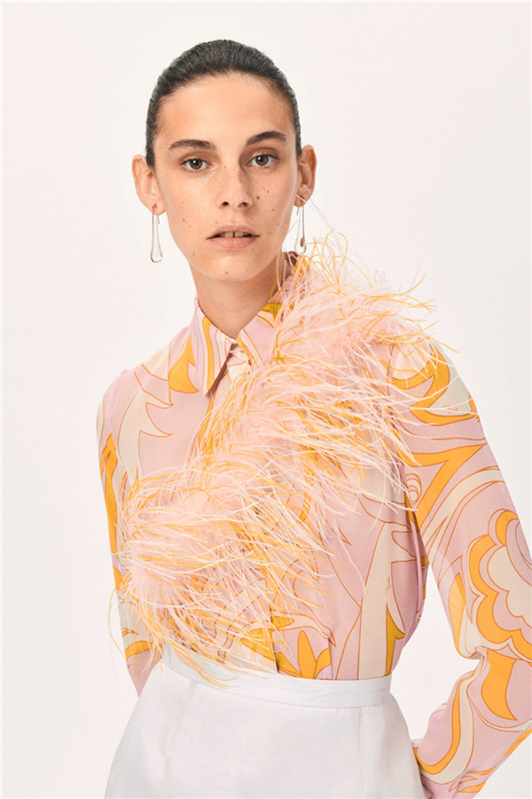Sorbe Renkleriyle Emilio Pucci Resort 2021 Koleksiyonu - Sorbe Renkleriyle Emilio Pucci Resort 2021 Koleksiyonu