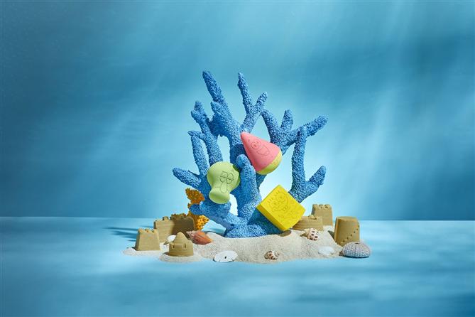 SpongeBob SquarePants Temalı Cilt Bakım ve Makyaj Ürünleri - SpongeBob SquarePants Temalı Cilt Bakım ve Makyaj Ürünleri