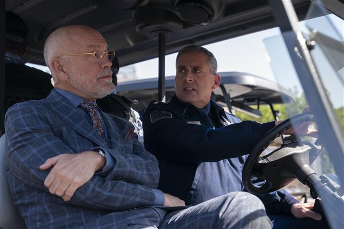 Steve Carrel ve John Malkovich'li Netflix Dizisi Space Force'tan İlk Görseller - Steve Carrel ve John Malkovich'li Netflix Dizisi Space Force'tan İlk Görseller