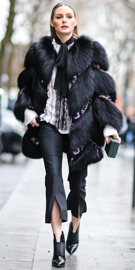 Stil İkonu Olivia Palermo'nun Kış Kombinlerinden İlham Alın