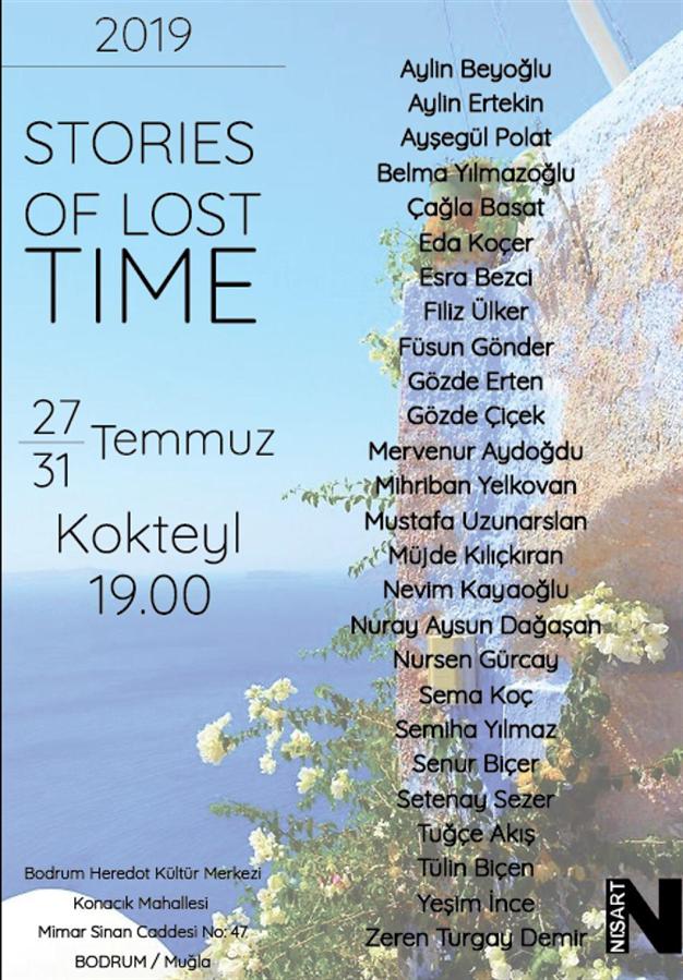 """Stories Of Lost Time"" Sergisi 27-31 Temmuz'da Sanat Severlerle Buluşuyor - ""Stories Of Lost Time"" Sergisi 27-31 Temmuz'da Sanat Severlerle Buluşuyor"