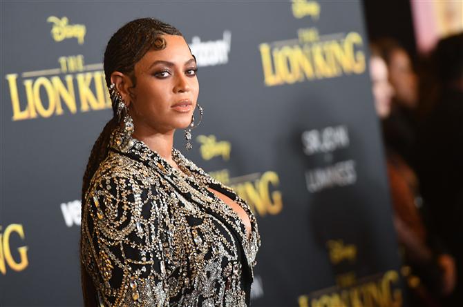 The Lion King Prömiyerine Beyonce Damgası - The Lion King Prömiyerine Beyonce Damgası