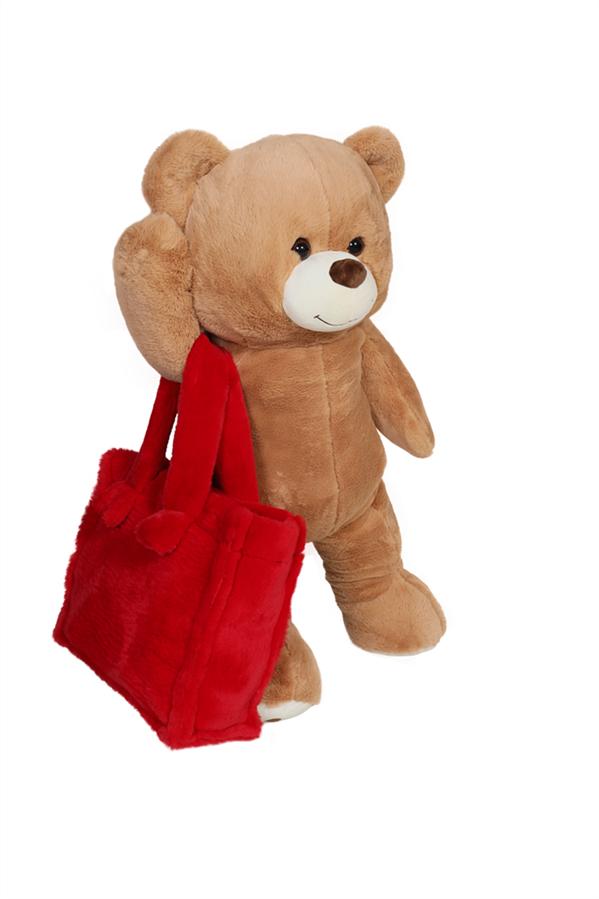 TOUBIQ'den Sıcak Detay 'Teddy Dodo Bag' - TOUBIQ'den Sıcak Detay 'Teddy Dodo Bag'