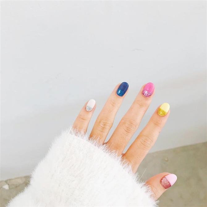 Trend Alarmı: Her Tırnak Farklı Renk