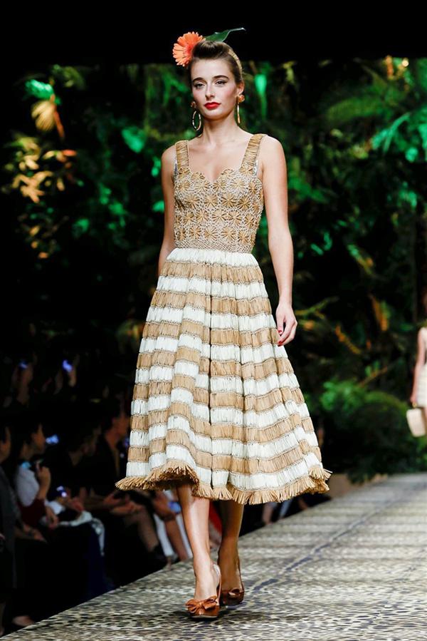 Tropikal Etki: Dolce & Gabbana İlkbahar/Yaz 2020 - Tropikal Etki: Dolce & Gabbana İlkbahar/Yaz 2020