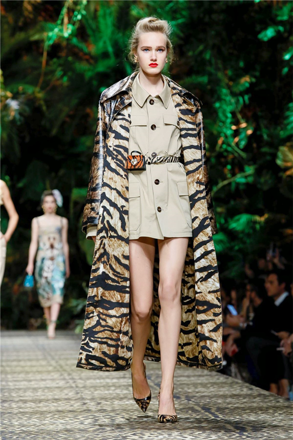 Tropikal Etki: Dolce & Gabbana İlkbahar/Yaz 2020