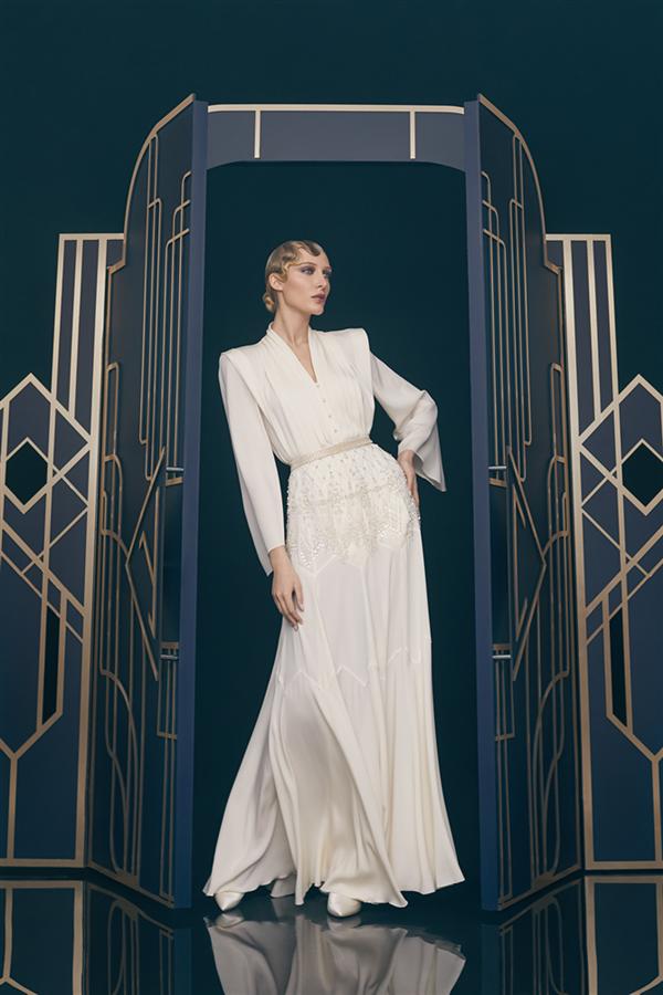 Ulyana Sergeenko Haute Couture İlkbahar/Yaz 2021 - Ulyana Sergeenko Haute Couture İlkbahar/Yaz 2021
