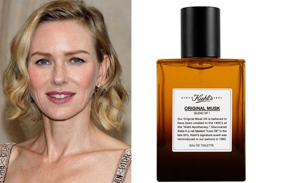 Naomi Watts- Kiehl's Musk Eau de Toilette spray
