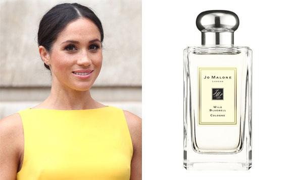Meghan Markle- Jo Malone London Wild Bluebell perfume