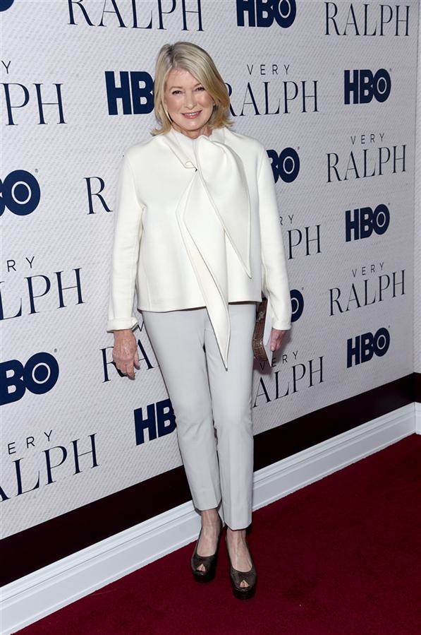"""Martha Stewart - """"Very Ralph"""" Prömiyerinde Şıklık Yarışı"""