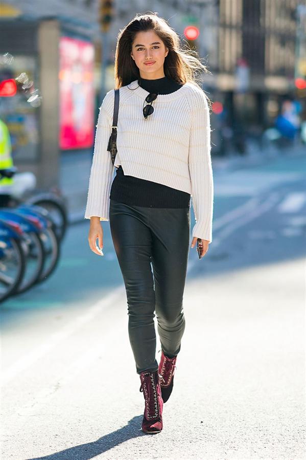 Victoria's Secret Meleklerinin Sokak Stilini Yakalayın