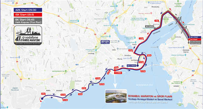 Vodafone 41. İstanbul Maratonu Hakkında Bilmeniz Gerekenler - Vodafone 41. İstanbul Maratonu Hakkında Bilmeniz Gerekenler