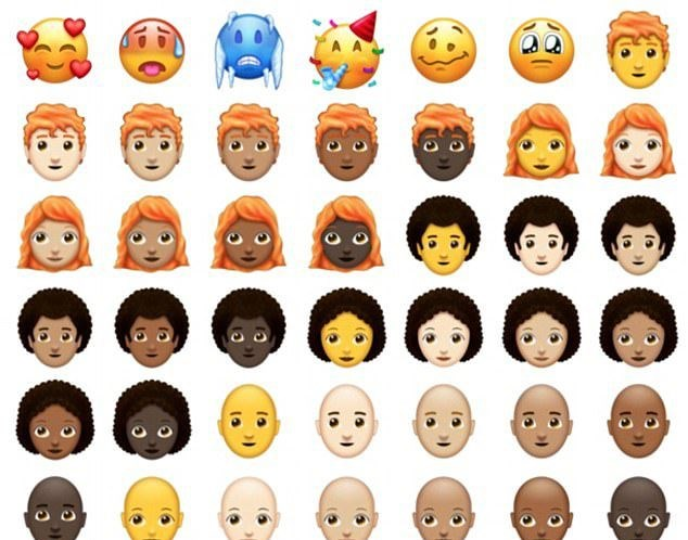 Yeni Emojiler Geliyor