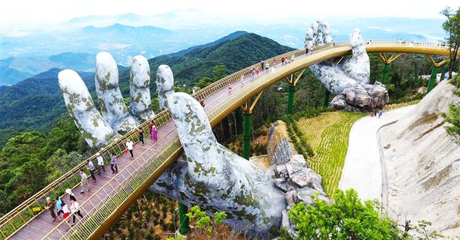 Yeni Fenomen Devasa El Köprüsü