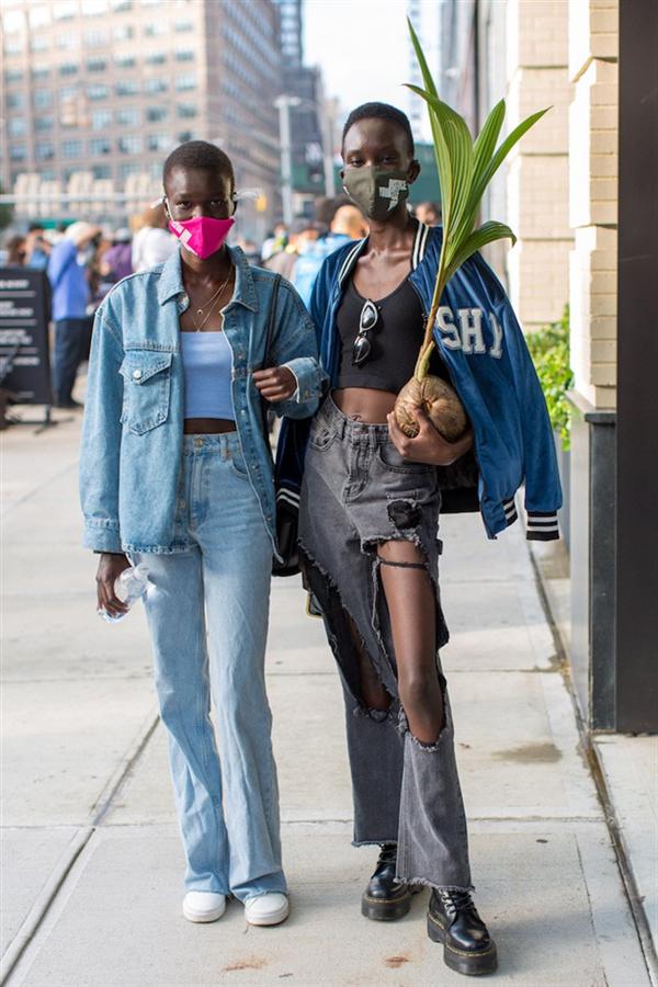 Yeni Normal: New York Moda Haftası'ndan Öne Çıkan Sokak Stilleri - Yeni Normal: New York Moda Haftası'ndan Öne Çıkan Sokak Stilleri