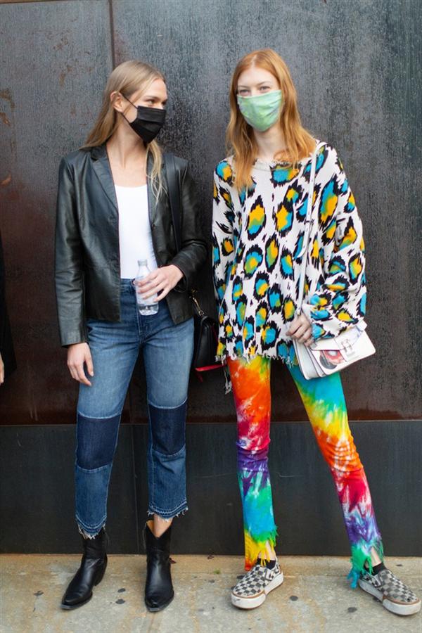 Yeni Normal: New York Moda Haftası'ndan Öne Çıkan Sokak Stilleri