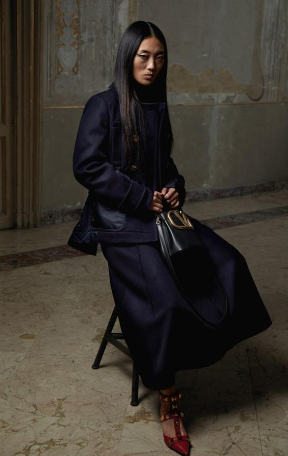 Yepyeni Kodlarla Valentino Pre-Fall 2021 Koleksiyonu