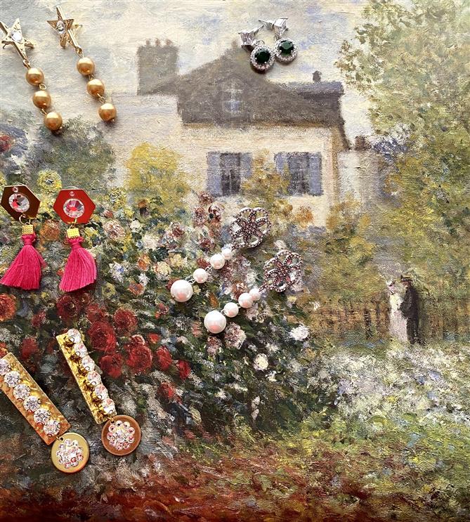 Yeşim Kale'den Monet'nin Renkleri Koleksiyonu - Yeşim Kale'den Monet'nin Renkleri Koleksiyonu