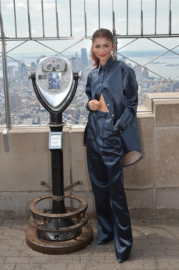 Zendaya'nın Spider-Man Basın Turundan Etkileyici Stil Günlüğü
