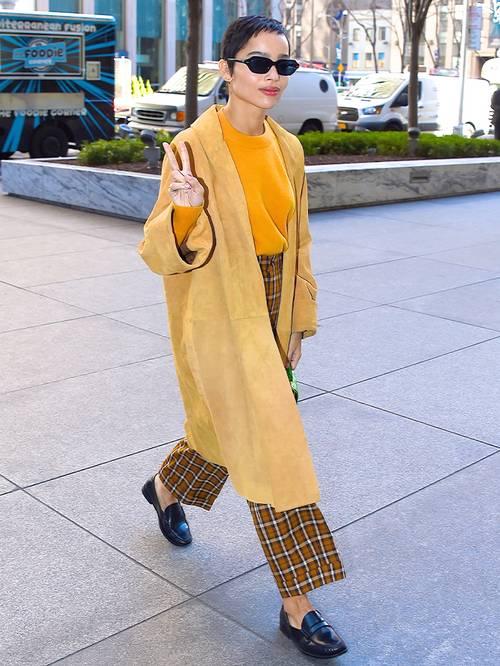Zoe Kravitz'ten İlhamla Sezonun Öne Çıkan Loafer Modelleri
