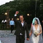 Ebru Özkan ve Ertan Saban Evlendi
