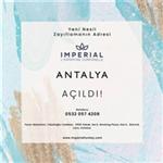 Imperial Turkey Şimdi de Antalya'da!
