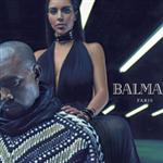 Kanye West ve Kim Kardashian Balmain`in yüzü