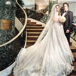 Mahsun Kırmızıgül ve Ece Binay Amerika`da Evlendi