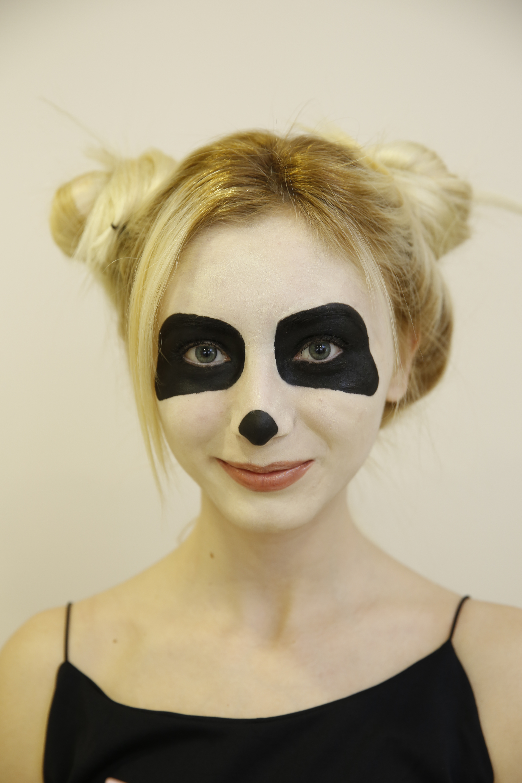 Panda Yüz Boyama Gazetesujin