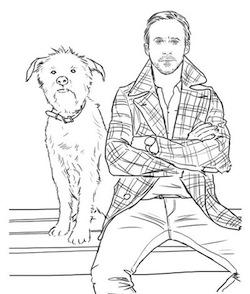 Ryan Goslingi Boyamaya Var Mısınız Trenduscom