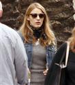 Blake Lively kocasını film setinde ziyaret etti