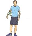Adidas yeni yıl karikatürleri