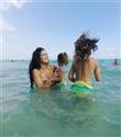 Adriana Lima Kızları ile Miami`de