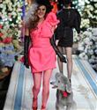 Anna Dello Russo H&M kamera arkası