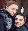 Arya ve Sansa'dan Carpool Karaoke'de