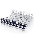 Baccarat kristal satranç tahtası