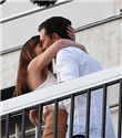 Dakota Johnson ve Jamie Dornan Film Setinde