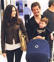 Emre Belözoğlu ailesiyle alışverişte