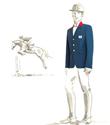 Fransa`nın jokeyleri Hermes giyecek
