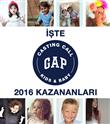 Gap Casting Call 2016'yı Kazananlar Belli Oldu