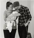 Genç çift 9 aylık hamilelik sürecini videoya çekti