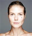 Heidi Klum makyajsız poz verdi