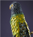 Hermes için Deri Papağan