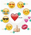 Instagram`da en çok kullanılan emoji hashtagleri