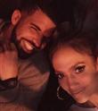 Jennifer Lopez ve Drake'den Romantik Poz