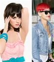 Katy Perry ve Rihanna`nın kilo yarışı