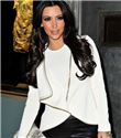 Kim Kardashian`ın yazılı bikinisi