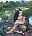 Louis Vuitton reklamında Angelina makyajsız
