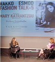 Mary Katrantzou Vakko Esmod Fashion Talk`a katıldı